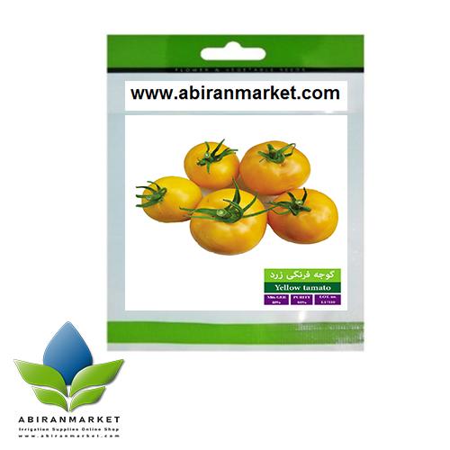 بذر بسته بندی گوجه فرنگی
